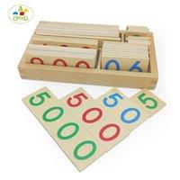 Wholesale Single Digit - Wholesale- YLB Math Toys Montessori Teaching Aids Educational toys for Children Thousands Hundreds Ten Single Digit Digital Cognition