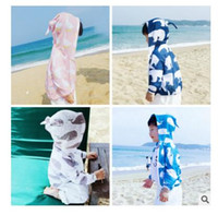 Wholesale Sun Jacket Baby - Baby 2017 Clothes Kids Sun-protective Clothing Summer Children Hoodies Jackets for Boys Girls Children Cartoon Bear Whale Children Clothing