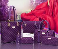 Wholesale Diamond Lashes - In the fall and winter of 2017 han edition one shoulder handbag aslant bag leisure lash bag cover across six times bag nylon