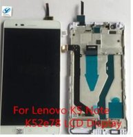 Atacado-Livre LCD para Lenovo K5 Nota K52e78 LCD Display Touch Screen Digitizer Assembly Substituição