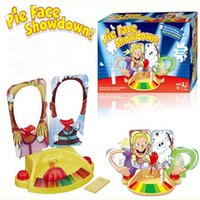 Wholesale Pie Games - Christmas Gift Pie Face Showdown Game Update Version Pie Face Cream on Her Face Board Games Party Game Christmas Funny Toys