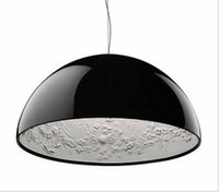 Wholesale Qiseyuncai Modern Minimalism FRP Resin Material Foyer E27 LED Pendant Light Marcel Wanders Internal Pattern Skygarden Led Hanging Light