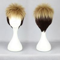 Wholesale attack titan wigs - Attack on Titan Jean Kirstein Linen Mix Short Cosplay Costume Wig + Free Wig Cap