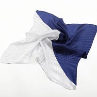Wholesale Square Polka Dot Scarves - 2016 New Arrival Rushed Shawl, Wrap Fashion <60cm Multi Polka Dot Man Silk Small Square Scarf Business Men's Point Crepe