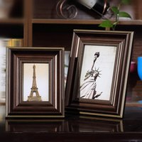 Wholesale Best Wall Picture Frame - 1 Pcs Desktop Table Top Decor Photo Frames Home Decor Wall Picture Album Art Picture Frame Best Gift For Birthday Photo Frames