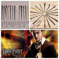 Wholesale Magic Wand Free Dhl - Fedex DHL Free With box Harry Potter Magic Wand Dumbledore Magic Magical Wand Cosplay Wands Non-luminous Z144-1B