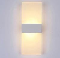 Wholesale led strip switch touch resale online - Modern Bedroom Wall Lamps Abajur Applique Murale Bathroom Sconces Home Lighting Led Strip Wall Light Fixtures Luminaire Lustre