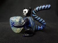 ingrosso tubi di fumo di moda-Trasporto libero reale Belle nuovi occhiali creativi fumare tubi Tubi scimmia dalla coda lunga Personalità della moda animale Smoking Accessori