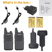 Wholesale Long Range Two Way Radios - Wholesale- 2PCs PMR446 Walkie Talkie AIRFREE AP-100 5W long range licence free PMR Two Way radio 16 Channels CE RoHS with CTCSS   DCS Codes