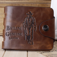 Wallets sports card source - Speed sell tong source Spot wallet leather brief paragraph Tide restoring ancient ways is the wallet men