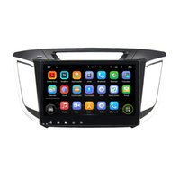 "Wholesale Gps For Hyundai - 1024*600 Quad Core 10.1"" Android 5.1 Car Radio dvd gps for Hyundai IX25 2014 2015 With 3G WIFI Bluetooth TV USB DVR Car DVD Play"