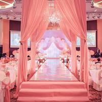 Wholesale wedding cakes decorations resale online - New Arrival M M M Wide Shine Silver Mirror Carpet Aisle Runner For Romantic Wedding Favors Party Decoration