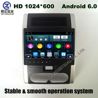 Wholesale Dvd Stereo Navigation Nissan - QZ Android 6.0 For Nissan X-TRAIL II 2007-2012 for Dongfeng MX6 Car DVD player with 3G 4G WIFI GPS navigation radio Bluetooth