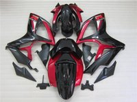 Wholesale Gsxr Fairing Red Black Silver - Free gifts New hot motor Fairing Kits For SUZUKI GSXR 600 750 K6 06 07 GSXR-600 GSXR750 GSXR600 GSXR-750 2006 2007 black red silver