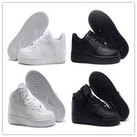 Wholesale Elastic Running - 2017 New Shoes One 1 Men Women Running Shoes Sports Skateboarding Shoes Cheap White Black Low High Sneaker Air Famous Casual Shoe Trainers