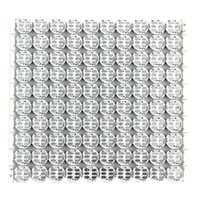 Wholesale Arduino Rgb - Wholesale-WS2812B 10*10 100-Bit Full Color 5050 RGB LED Lamp Panel Light For Arduino