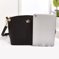 Wholesale Imperial Crown Dress - uggage s Handbags Fashion Women Leather Handbags Imperial Crown Small Shell Bag Women Messenger Bag Ladies Shoulder Crossbody Bag Clutche...