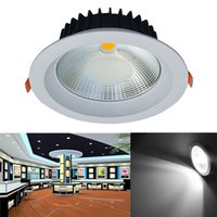 Jiawen 20W Dimmable LED Plafonnier Anti-éblouissement Embedded Downlight encastré LED Spot Spot Down Down AC 85-256V