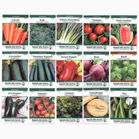 Wholesale Heirloom Vegetable Garden Seed Collection Assortment of Non GMO Easy Grow Gardening Seeds Carrot Onion Tomato Pea More