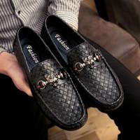 Wholesale Scarpe Uomo - New men shoes leather chaussure homme de marque scarpe uomo di marca mocassin homme schoenen mannen
