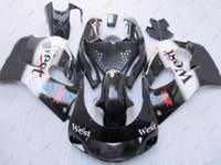 Wholesale 97 Gsxr Fairing Kits - Plastic Fairings for Suzuki GSXR600 1999 Body Kits for Suzuki GSXR750 98 99 WEST Full Body Kits GSXR 750 96 97 1996 - 2000