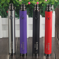 Wholesale Clearomizer Ego Twist - Top Vision Spinner II 2 1650mAh Ego Twist 3.3 4.8V Variable Voltage Battery for Electronic cigarettes 510 eGo Atomizer Tanks Clearomizer