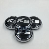 Wholesale k5 optima - K5 Wheel Center Caps Emblem Badge Wheel Center Hub Cap For Kia Picanto Magentis PRO CEED 420