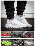 Wholesale Cream For Soccer Shoes - New Run Design Air Huarache 4 IV Running Shoes For Men&Women, Lightweight Huaraches Sneakers Athletic Sport Outdoor Harache hiking Shoes
