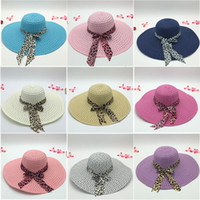 Wholesale Wholesale Out Doors - 2017 New Wide Brim Floppy Fold Sun Hat Summer Hats for Women Out Door Sun Protection Straw Hat Women Beach Hat