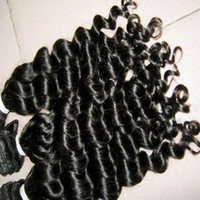 Wholesale magic hair weave for sale - Group buy Virgin natural Malaysian curly Human Hair g Unprocessed Magic Weaves Fedex Shipping
