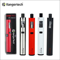 Wholesale Evod Battery Pro Tank - 100% Authentic Kanger EVOD PRO Starter Kits All in One Design 4ml Top Filling Tank CLOCC Coils support 18650 Battery Mod
