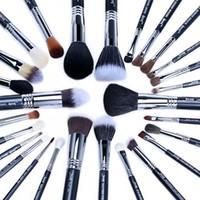 Wholesale black up lipstick for sale - Group buy Jessup Set Professional Makeup Brush Set Beauty Foundation Eye Face Shadow Lipsticks Powder Make Up Brushes Kit Tools T133