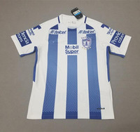 Wholesale Mx Honda - Liga MX 2017 2018 Pachuca honda Home Blue White Soccer Jerseys 17 18 camisetas Away Football Shirts maillots Free By DHL MIX order 10 pcs