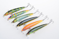 wholesale of Coral fish series scales of bionic fishing baits 9.5cm 8.5g pencil plastic lures hard bait fishing tools 1606109