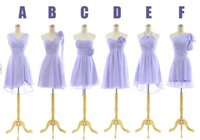 Wholesale Cheap Handmade Crosses - Lavender Cheap Short Bridesmaid Dresses Sleeves Mini Sweetheart One Shoulder Handmade Flower Chiffon A Line Formal Party Cocktail Gowns