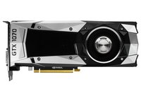 NVIDIA GeForce® GTX 1070 Founders Edition 8 ГБ GDDR5 256-разрядная графическая карта PCI Express 3.0 для настольных ПК DVI-D + HDMI + 3 * DisplayPort