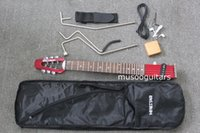 Wholesale Travel Electric Guitars - MINSTAR BRAND MICROSTAR TRAVEL ELECTRIC GUITAR WITH CARRING BAG