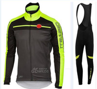 Wholesale Cycling Winter Wool - Winter hot wool professional riding jersey   riding suits   cycling clothes   bicycle suit