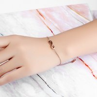 Wholesale Stainless Steel Ankle Cuffs - Bohemian Lolita Infinity Chain Cuff Bracelet + Pendant Necklace + Ankle Anklet Fashion Charm Stainless Steel Jewelry Wedding Gift for Bride