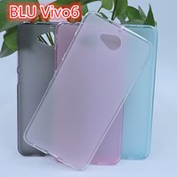 Wholesale Blu Vivo Case - For BLU VIVO6 Candy color Cover NEW STYLISH TPU Soft Silicone Gel Case Phone Cover FOR BLU VIVO 6 Back Case