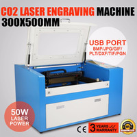 Wholesale Rotary Laser Engraving - Updated New 50W CO2 Laser Engraving Cutting Machine with Auxiliary Rotary Device High Quality High Speed High Precision