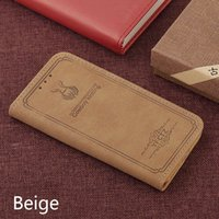 Wholesale Pu Leather Wallet Case Iphone - For iPhone 8 phone case PU leather flip wallet case with stand for iPhone 7 6 Plus Samsung Galaxy S7 edge S8 plus