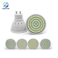 Wholesale Led Chip Cheap - Cheap led Lamp GU10 E27 E14 MR16 led bulbs 48leds 60leds 80leds SMD 2835 chip led spotlight 3years warranty free shipping