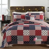 Wholesale Piece Warehouses - Warehouse Christmas Bedding Set Three Pieces quilt cover 230*250 CM Pillowslip 50*70*2 CM Free Shipping Sea Bridal Accessories