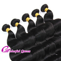 Wholesale Natural Wave Queen Hair - Colorful Queen Peruvian Virgin Hair 10pcs set Wholesale Peruvian Body Wave Straight Wavy Curly Virgin Peruvian Human Hair Weaves Extension