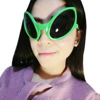 Wholesale novelty glasses eyes - Alien Eyes Shaped Glasses Funny Party Dance Glasses Novelty Glasses Halloween Party Photobooth Props Favors OOA3040