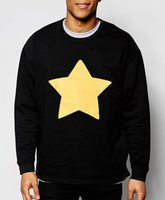 Wholesale Cookie Brands - Wholesale-Men hoodies STEVEN UNIVERSE STAR COOKIE CAT brand clothing harajuku hip hop style cotton sweatshirt 2016 new fashion streetwear