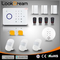 LookDream Best Smart Touch Sicherheit Wireless GSM Einbrecher Home Alarm Mit RFID Unternehmen Direktor Vertrieb Low Consumption Power