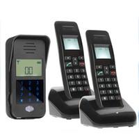 Wholesale Intelligent Wireless Doorbell - AD01 2 Voice Intercom Audio Intelligent Doorbell Wireless Doorphone for Villa doorphone, doorbell multi-user intercom AT