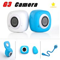 Wholesale Retail Digital Cameras - G3 Mini Sport Camera 1080P HD Digital Camera WIFI Wireless Remote Control Waterproof with Retail Package